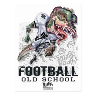 Smash Mouth Dinosaur Football Gear Postcard