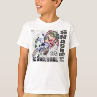 Smash-Mouth Dinosaur Football T-Shirt