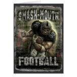 Smash-Mouth Football Card