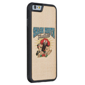 Smash Mouth Football Carved Maple iPhone 6 Bumper Case