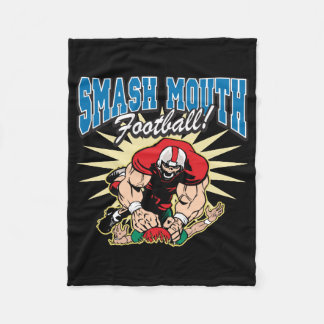 Smash Mouth Football Fleece Blanket