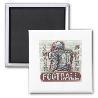 Smash Mouth Football Magnet