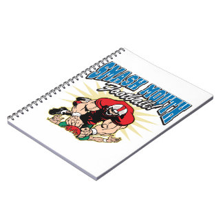 Smash Mouth Football Note Book