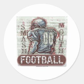 Smash Mouth Football Sticker