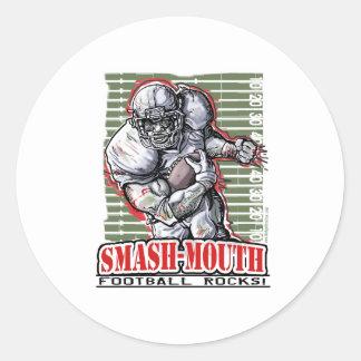 Smash-Mouth Sticker