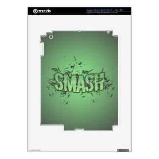 Smash Skin For iPad 3