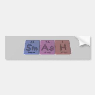Smash-Sm-As-H-Samarium-Arsenic-Hydrogen.png Bumper Sticker