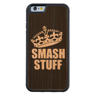 Smash Stuff Carved Cherry iPhone 6 Bumper Case