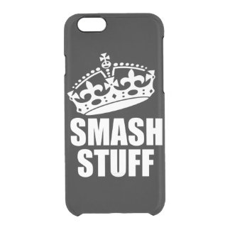 Smash Stuff Clear iPhone 6/6S Case