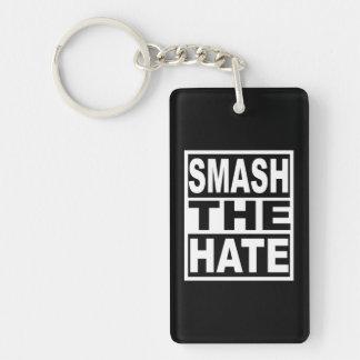 Smash the Hate Keychain