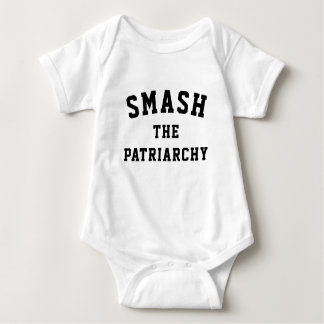 Smash the Patriarchy Baby Bodysuit