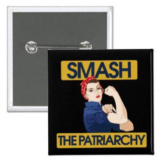 Smash the Patriarchy Pins