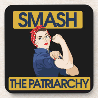 Smash the Patriarchy Drink Coasters