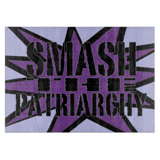 Smash the Patriarchy Cutting Board