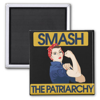 Smash the Patriarchy 2 Inch Square Magnet