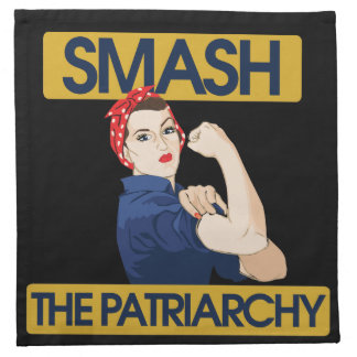 Smash the Patriarchy Cloth Napkins