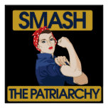 Smash the Patriarchy Poster