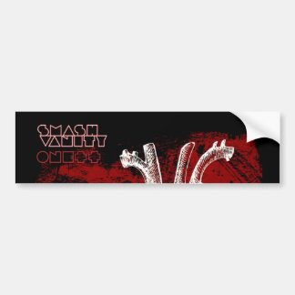 Smash Vanity Arteries Bumper Sticker