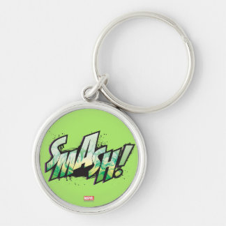 SMASH! Word Graphic Keychain
