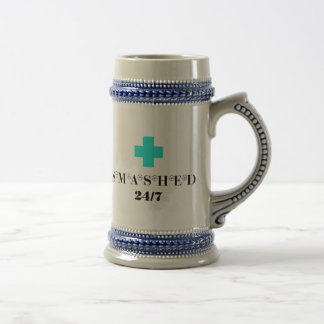Smashed 24X7 Coffee Mugs