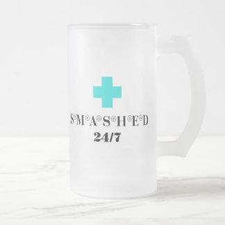 Smashed 24X7 Mug