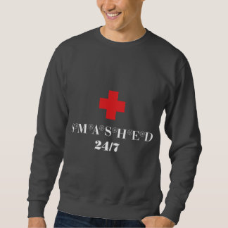 Smashed 24X7 Sweatshirt