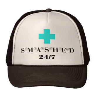Smashed 24X7 Trucker Hat