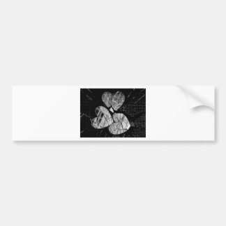 Smashed Heart Gifts Bumper Sticker