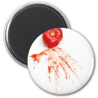 Smashed Tomato Magnet