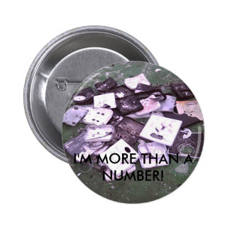 smashedscales, I'M MORE THAN A NUMBER! Buttons