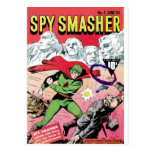 Smasher del espía postales