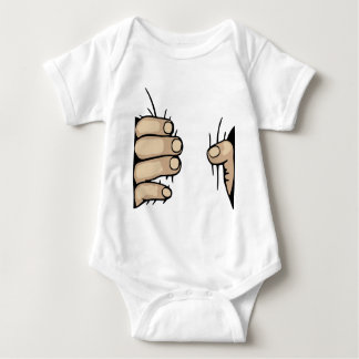 Smasher Hand Baby Bodysuit