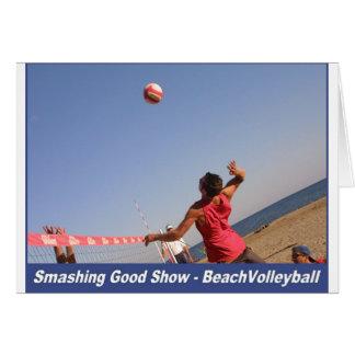 Smashing Good Show Card