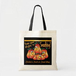 Smashing Halloween Pumpkins Trick or Treat Bag