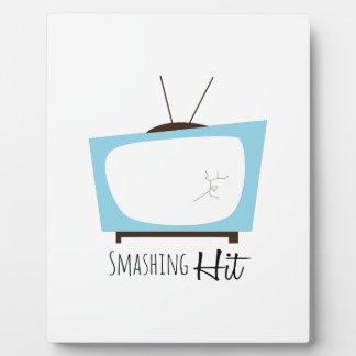 Smashing Hit Display Plaque