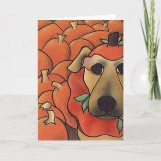 Smashing In Pumpkins by Robyn Feeley card