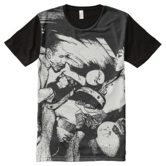 smashing knee All-Over print shirt