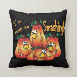 Smashing Pumpkin Pillow