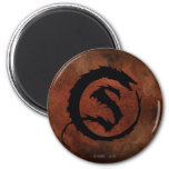 SMAUG™ Logo 2 Inch Round Magnet