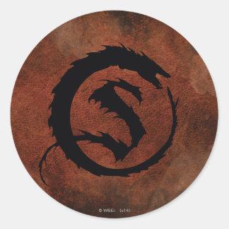SMAUG™ Logo Classic Round Sticker