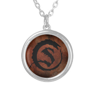 SMAUG™ Logo Silver Plated Necklace