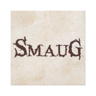 SMAUG™ Name Canvas Print