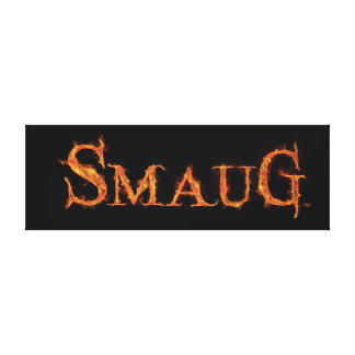 SMAUG™ Name Graphic Canvas Print