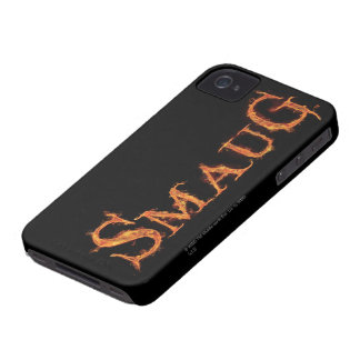 SMAUG™ Name Graphic iPhone 4 Case-Mate Case