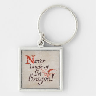 SMAUG™ - Never Laugh At A Live Dragon Keychain