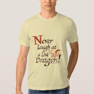 SMAUG™ - Never Laugh At A Live Dragon Tshirt