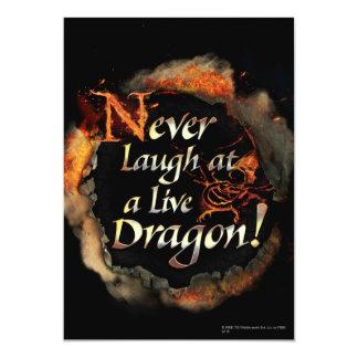SMAUG™ - Never Laugh Logo Graphic Card