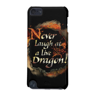 Smaug - Never Laugh Logo Graphic iPod Touch (5th Generation) Covers