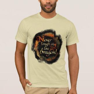 SMAUG™ - Never Laugh Logo Graphic T-Shirt