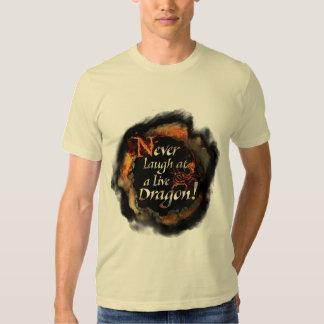 SMAUG™ - Never Laugh Logo Graphic Tee Shirts